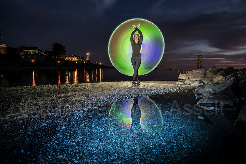 Lightpainting holografisch
